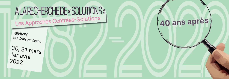 A la recherche de solutionsn